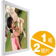 3527長方木框畫