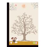 幸福簽名樹(60p)免運